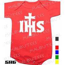 Body Evangélico Gospel Ihs Infantil Bebê Promoção