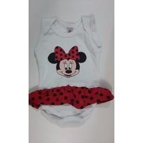 Body Infantil Bebê (minnie) - Tamanhos P,m,g