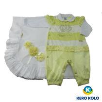 Saída Maternidade Sonho Mágico Luxo P 2a4 Meses Kero Kollo