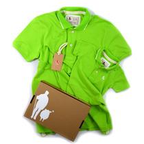 Camisa Camiseta Pai E Filho Iguais, Polo Sheepfyeld Original