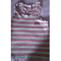 Camiseta Regata Lilica Ripilica Tam 6 - Muito Nova