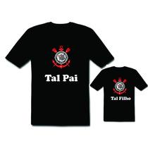 Camiseta E Body Tal Pai Tal Filho