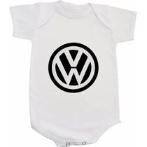 Body Vw - Carros Marcas Fusca Kombi Ou Camiseta Infantil