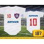 Body Ou Camisetas Times San Lorenzo Argentina Personalizado