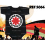 Body Bori Bebe Rock Bandas Red Hot Chili Pepper 100% Algodão