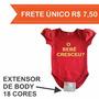 Extensor Body Bebê - Prolongador Body Bebê
