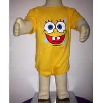 Body Bebê Personagens Bob Esponja