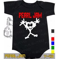 Body Pearl Jam Preto Rock Metallica Frete Gratis