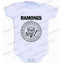 Body Ramones Bandas De Rock Bebê Infantil Personagens