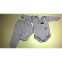 Conjunto Body C/ Calça Bebê - Todos Tamanhos Ref.130