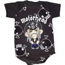 Body Motorhead (bori,body De Bebe,body Infantil)
