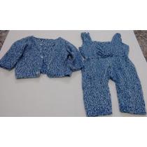 Body Infantil - Kit Pagão 2 Peças Casaquinho E Body Em Lã