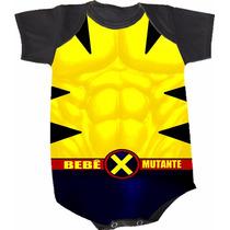 Body Wolverine X-men (bori,body De Bebe,body Infantil)