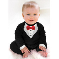 Body Black Tie Bebe Homenzinho Social Terno Gravata M17