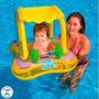 Bote Inflável Infantil Baby Float C/cobertura Intex 56581np