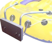 Suporte Aço Universal Motor Popa Intex Elet Barco Bote #mod1