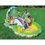 Piscina Inflavel Infantil Playground Intex Disney 291 Litros