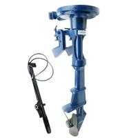 Rabeta Vertical + Kit P/ Motor 4 A 7hp Popa Barco Bote #3767