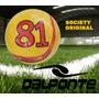 Bola Futebol Society Dalponte Since 81 Amarela