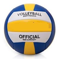 Lote 5 Bolas Volei Ball Praia Couro Sintetico