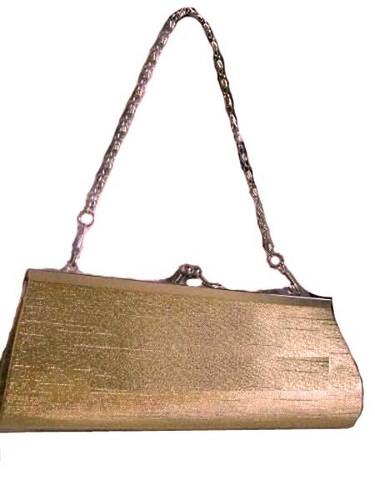 Bolsa Dourada Para Festa : Bolsa carteira para festa casamento prata ou dourada