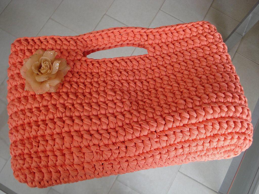 Bolsa De Mão Em Crochet : Bolsa de croche r no mercadolivre