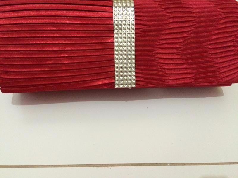 Bolsa De Mão Para Festa Vermelha : Bolsa feminina vermelha de m?o festa casamento etc