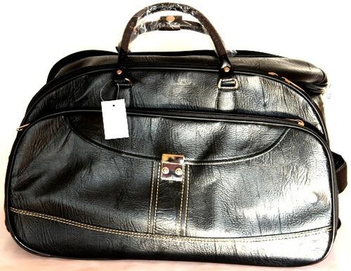 Bolsa De Viagem De Mão : Bolsa mala viagem de m?o couro com rodinha grande unissex