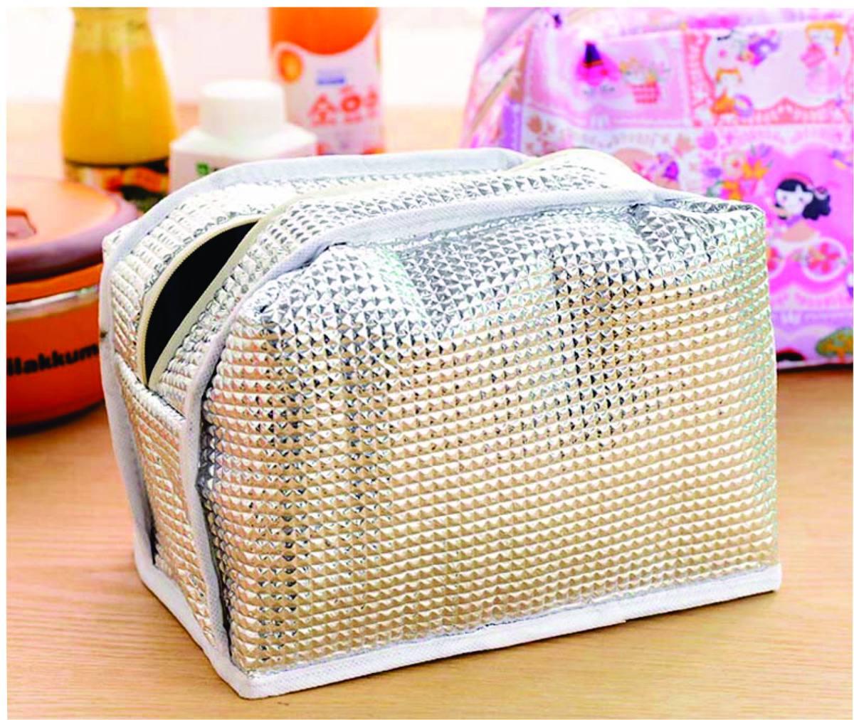 Bolsa Feminina Com Compartimento Para Marmita : Bolsa t?rmica para lanches marmita feminina r no