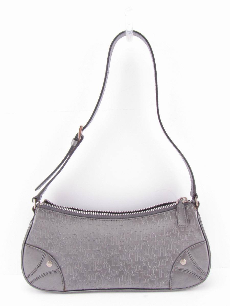Bolsa De Couro Usada : Bolsa victor hugo original couro nunca usada r