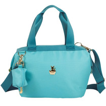 Bolsa Térmica Summer Classic Mila Celeste Master Bag