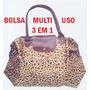 Bolsa Multi-uso 3 Em 1: É Mini-bolsa, Bolsa E Sacola.