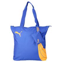 Bolsa Puma Fundamentals Shopper - Azul Feminina - Way Tenis