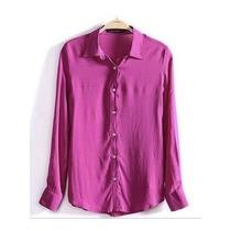 Camisa Blusa Feminina Chiffon Seda +(*menor Preço + Brinde)