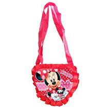 Bolsa Coração Minnie Disney Original Brilha Festa