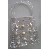Sacola Conchas - Plastica Transparente - Ecobag