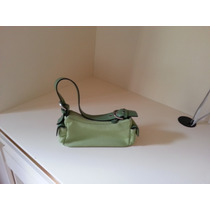 Bolsa De Couro Smart Bag - Verde Escuro X Verde Claro
