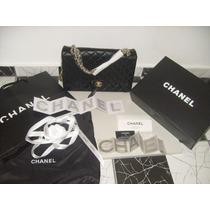 Bolsa Classic 2.55 Maxi Chanel Couro Legitimo Frete Grátis!