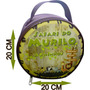 Necessaire Personalizada Redonda - Kit 10 Pçs