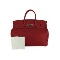 Bolsa Hermes Birkin Vermelha 40cm