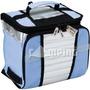 Necessaire Térmica Bolsa Cooler Lancheira 7,5 Litros Azul