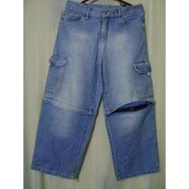 Calça Bermuda Jeans P