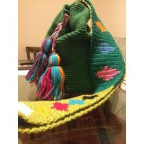 Wayuu Green Bag