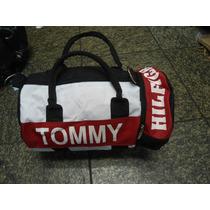 Bolsa Tommy Hilfiger Dufflle Mini Original Cores Frete Grati