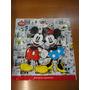 Sacola Disney Mickey Minnie Plastico Papel Presente Tam G
