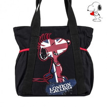 Bolsa Snoopy London Style - 42%off Na Mais Vendida Do Ano