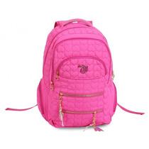 Mochila Capricho Rosa Pink Costas - Coleção 2015