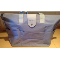 Bolsa/sacola Swatch Do Modelo Heartfelt Azul Clara