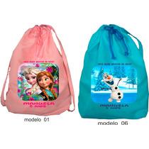 Bolsa Mochilas Personalizadas Kit 30 Peças 25x30