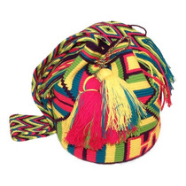 Bolsa Wayuu Strawberry Colombiana